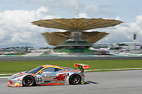 Car#33 Weng Sun MOK (MAS), Toni VILLANDER (FIN) of CLEARWATER RACING Asian Le Mans Series Photo by Peter Lim/PhotoDesk.com.my