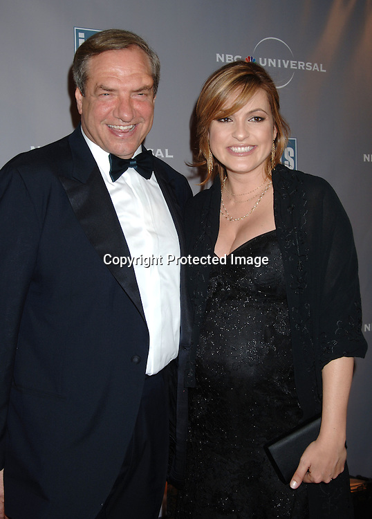Dick Wolf and Mariska Hargitay ..at The International Radio and Television Society Foundation Gold Medal Award Dinner honoring Jeff Zucker,..CEO of NBC Universal Television Group on March 9, 2006..at The Waldorf Astoria Hotel. ..Robin Platzer, Twin Images
