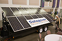 The SolaRover Mobile Solar Power System provides a cleaner alternative to diesel generators. This model consists of fourteen 175-watt solar panels and 42kWhr battery storage. West Coast Green is the nation?s largest conference and expo dedicated to green innovation, building, design and technology. The conference featured over 380 exhibitors, 100 presenters, and 14,000 attendees. Location: San Jose Convention Center in Silicon Valley (San Jose, California, USA), September 25-27, 2008