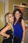 General Hospital Kristen Alderson and OLTL Melissa Archer pose at SoapFest's Celebrity Weekend - Celebrity Karaoke Bar Bash - autographs, photos, live auction raising money for kids on November 10, 2012 at Bistro Soleil at Old Historic Marco  Island, Florida. (Photo by Sue Coflin/Max Photos)