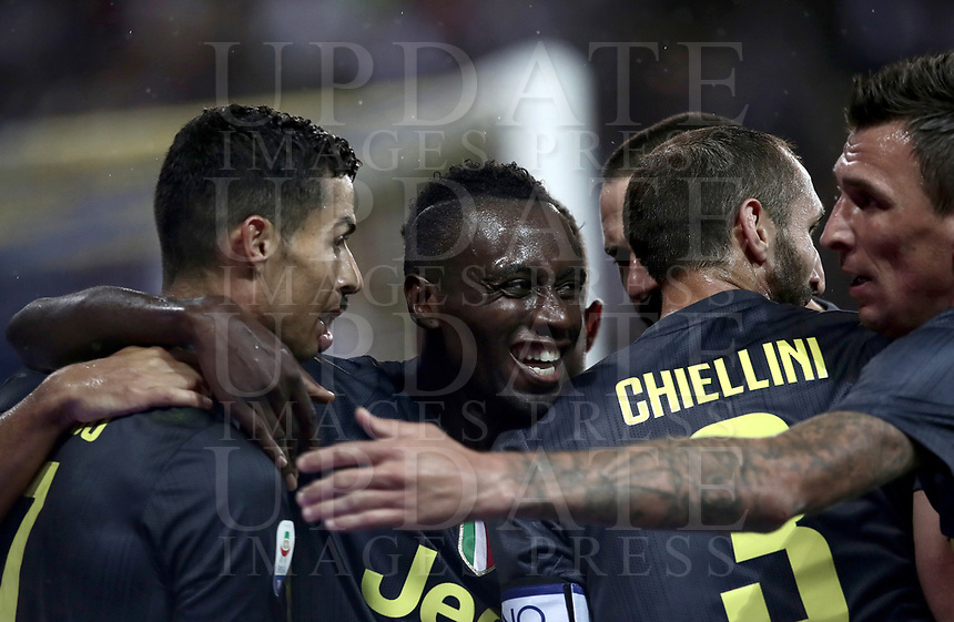 Calcio, Serie A: Parma - Juventus, Parma stadio Ennio Tardini, 1 settembre 2018.<br /> during the Italian Serie A football match between Parma and Juventus at Parma's Ennio Tardini stadium, September 1, 2018. <br /> UPDATE IMAGES PRESS/Isabella Bonotto