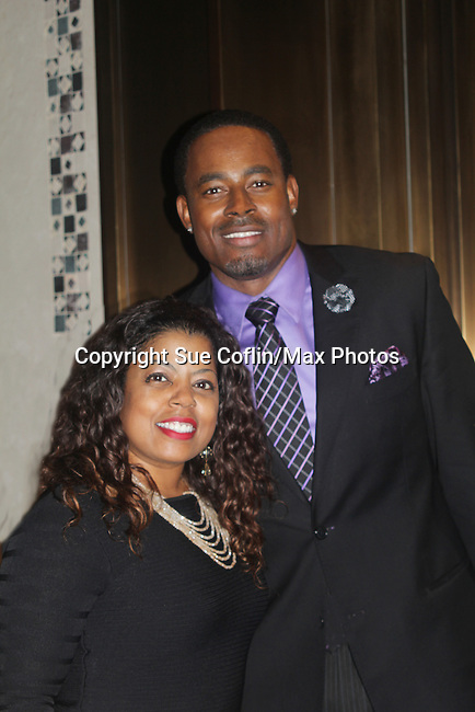 Hope Allen and As The World Turns' Lamman Rucker is Master of Ceremonies at the 7th Annual Spirit of the Heart Awards - Dinner for the Association of Black Cardiologists honoring distinguished doctors on October 1, 2016 at Cipriani 42nd Street, New York City, New York. (Photo by Sue Coflin/Max Photos)
