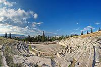 The Theatre of Dionysos (338  B.C.), Greece