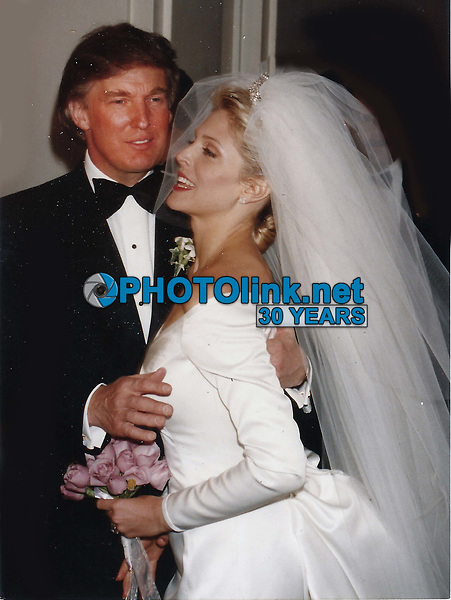 CelebrityArchaeology.com<br /> New York City<br /> 1993 FILE PHOTO<br /> Donald and Marla Trump<br /> Photo By John Barrett-PHOTOlink.net<br /> -----<br /> CelebrityArchaeology.com, a division of PHOTOlink,<br /> preserving the art and cultural heritage of celebrity<br /> photography from decades past for the historical<br /> benefit of future generations, for these images are<br /> significant, both historically and aesthetically.<br /> ——<br /> Follow us:<br /> www.linkedin.com/in/adamscull<br /> Instagram: CelebrityArchaeology<br /> Blog: CelebrityArchaeology.info<br /> Twitter: celebarcheology