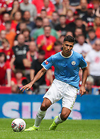Rodrigo of Manchester City during the FA Community Shield match between Liverpool and Manchester City at Wembley Stadium on August 4th 2019 in London, England. (Photo by John Rainford/phcimages.com)<br /> Foto PHC/Insidefoto <br /> ITALY ONLY