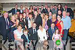 Colin & Nee Moran, Caherslee, Tralee (seated centre) who got married in Thailand recently had a massive family party in Kirby's Brogue, last Saturday night.