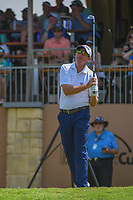Jim Herman (USA) watches his tee shot on 16 during day 2 of the Valero Texas Open, at the TPC San Antonio Oaks Course, San Antonio, Texas, USA. 4/5/2019.<br /> Picture: Golffile | Ken Murray<br /> <br /> <br /> All photo usage must carry mandatory copyright credit (© Golffile | Ken Murray)