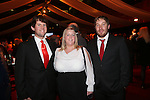 Wales Sport Awards 2013<br /> Ben Ford, Kelly Mayhew & Rhys Harris.<br /> 09.11.13<br /> ©Steve Pope-SPORTINGWALES