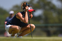 Gerina Piller (USA) lines up her birdie putt on 4 during round 1 of the 2019 US Women's Open, Charleston Country Club, Charleston, South Carolina,  USA. 5/30/2019.<br /> Picture: Golffile | Ken Murray<br /> <br /> All photo usage must carry mandatory copyright credit (© Golffile | Ken Murray)