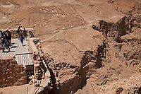 Formerly King Herod's getaway palace situated high above the Dead Sea, Masada as better known as the Jews last stronghold against the Romans in 73 A.D.