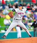 3 March 2010: New York Mets' pitcher Pat Misch on the mound during a Grapefruit League game against the Atlanta Braves at Champion Stadium in the ESPN Wide World of Sports Complex in Orlando, Florida. The Braves defeated the Mets 9-5 in the Spring Training matchup. Mandatory Credit: Ed Wolfstein Photo