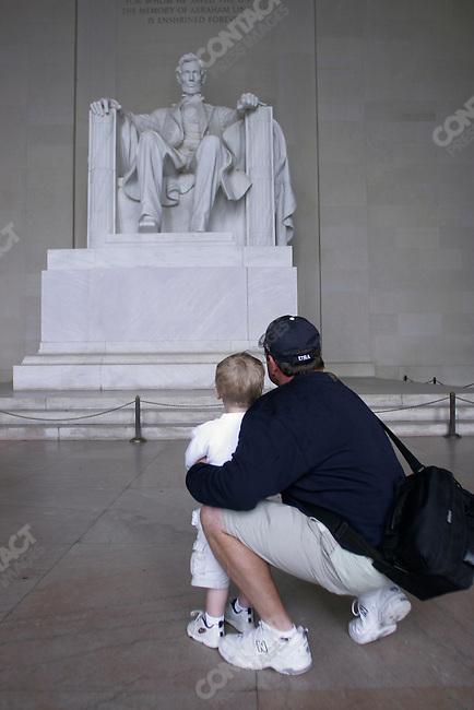 Lincoln Memorial, Washington D.C., June 3, 2005