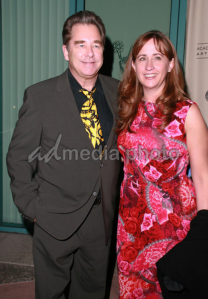 "12 October 2006 - North Hollywood, California - Beau Bridges and wife Wendy. The Academy Of Television Arts and Sciences celebrates ""60 Years: A Retrospective Of Television and the Television Academy held at the Academy's Leonard H. Goldenson Theatre. Photo Credit: Charles Harris/AdMedia"