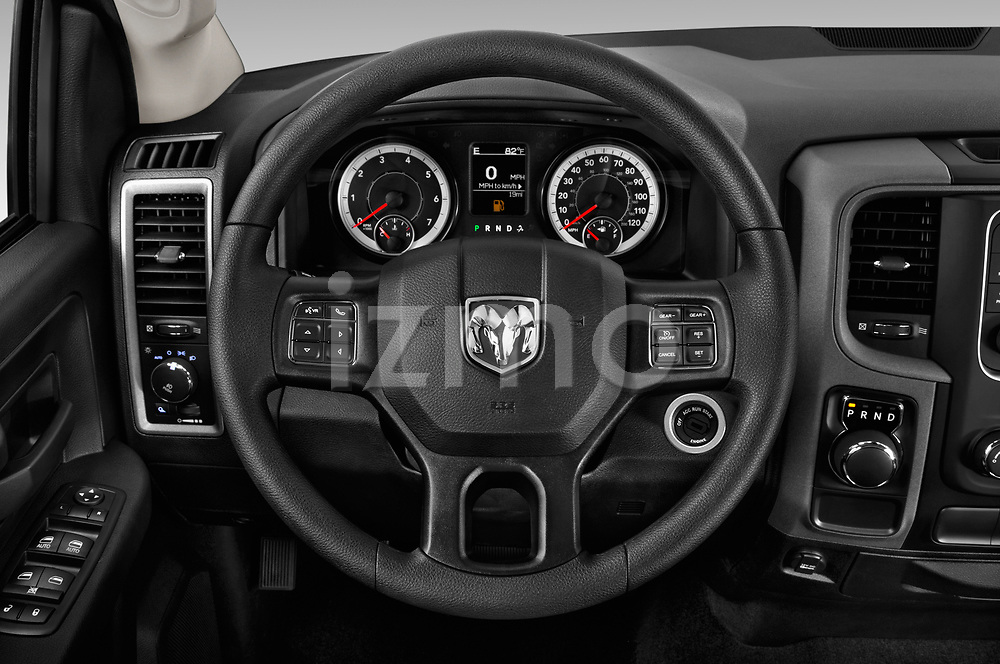 Car pictures of steering wheel view of a 2019 Ram RAM-1500-Classic  Express 4 Door Pick Up
