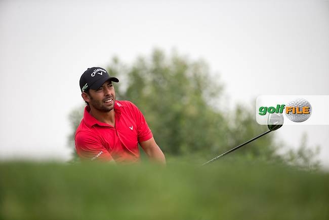Pablo Larrazabal (ESP) on the 3rd tee during the final round of the Abu Dhabi HSBC Championship, Abu Dhabi Golf Club, Abu Dhabi,  United Arab Emirates. 22/01/2017<br /> Picture: Golffile | Fran Caffrey<br /> <br /> <br /> All photo usage must carry mandatory copyright credit (&copy; Golffile | Fran Caffrey)