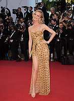 Eva Herzigova at the premiere for &quot;Ismael's Ghosts&quot; at the opening ceremony of the 70th Festival de Cannes, Cannes, France. 17 May 2017<br /> Picture: Paul Smith/Featureflash/SilverHub 0208 004 5359 sales@silverhubmedia.com