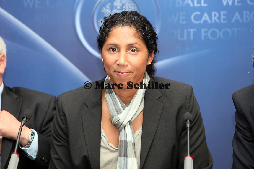 Neue UEFA Botschafterin Frauenfussball Steffi Jones