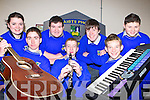 The newly formed Castleisland Community College students band Neutron Fusion who have qualified for the 2FM School of Rock Munster final which will be held in Cyruss Avenue, Cork on 6th December front row l-r: Maurice Smith Cordal, Richard Watson Castleisland, Robbie O'Connor Castleisland. Back row: Aine Cahill Cordal, Brian Aherne Castleisland, Peter Lynch Castleisland and Sean Moriarty Currow   Copyright Kerry's Eye 2008