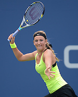 FLUSHING NY- SEPTEMBER 4: Victoria Azarenka Vs Samantha Stosur on Armstrong stadium at the USTA Billie Jean King National Tennis Center on September 4, 2012 in Flushing Queens.  Credit: mpi04/MediaPunch INc. ***NO NY NEWSPAPERS*** /NortePhoto.com<br />