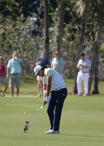 06.03.2016. Doral, Florida, USA.    Rafa Cabrera Bello of Spain on the 8th fairway during the final round of the World Golf Championships-Cadillac Championships - Final Round at Trump National Doral in Doral, FL