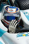 Graham Rahal at the Champ Car Grand Prix of Cleveland, 2007.