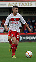 Robbie Rogers of Stevenage.  Stevenage v Shrewsbury Town - npower League 1 -  Lamex Stadium, Stevenage - 1st September, 2012. © Kevin Coleman 2012.