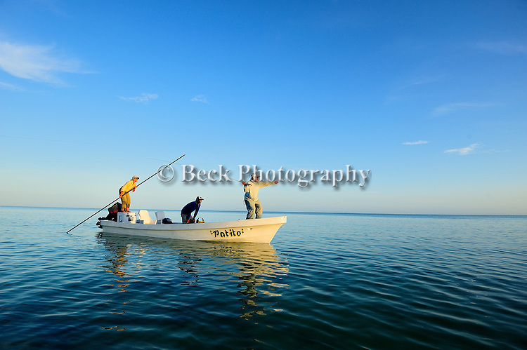 Saltwater fly fishing in Holbox Mexico
