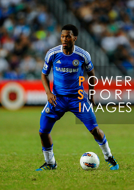 Daniel Sturridge of Chelsea in action during the Asia Trophy Final match aganist Aston Villa at the Hong Kong Stadium on July 30, 2011 in So Kon Po, Hong Kong. Photo by Victor Fraile / The Power of Sport Images