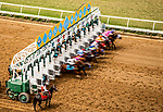 AUG 11: Horse Racing at The Del Mar Thoroughbred Club in Del Mar, California on August 11, 2019. Evers/Eclipse Sportswire/CSM