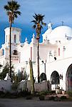 San Xavier del Bac Mission, Tucson, Arizona