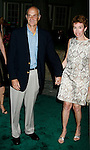 """UNIVERSAL CITY, CA. - August 14: United States Secretary of Homeland Security Michael Chertoff and guest attend a """"Green"""" Gala hosted by Governor Arnold Schwarzenegger at Universal Studios on August 14, 2008 in Universal City, California."""