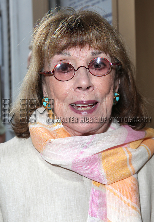 Phyllis Newman.attending 'Gore Vidal - A Celebration' at the Schoenfeld Theatre in New York City on August 23, 2012
