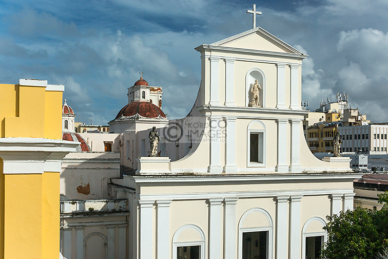 CATEDRAL METROPOLITANA BASILICA DE SAN JUAN BAUTISTA OLD SAN JUAN PUERTO RICO
