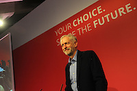 Labour Party Leadership Conference<br /> QE11 Centre, Westminster, London.Westminster<br /> Conference called to announce the results of the elections for position of Labour Party leader and deputy leader.<br /> <br /> Jeremy Corbyn, newly elected leader of the Labour Party, concludes his acceptance speech.