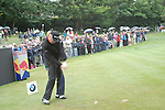 Miguel Angel Jimenez tees off on the 3rd hole during the 3rd round of the BMW PGA Championship at Wentworth Club, Surrey, England 26th may 2007 (Photo by Eoin Clarke/NEWSFILE)