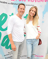"LONDON, ENGLAND - AUGUST 08: Brendan Cole and Zoe Hobbs at the ""Peter Pan"" production press performance, Troubadour White City Theatre, Wood Lane, on Saturday 27 July 2019 in London, England, UK.<br /> CAP/CAN<br /> ©CAN/Capital Pictures"