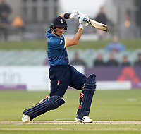 Joe Denly bats for kent during the Royal London One Day Cup game between Kent and Somerset at the St Lawrence Ground, Canterbury, on May 29, 2018