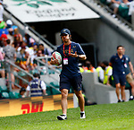 25 May 2019, Day 1 at HSBC World Rugby Sevens Series during the London Sevens 2019, Twickenham Stadium in London, England. Photo Martin Seras Lima