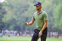 Thomas Pieters (BEL) after sinking his putt on 16 during round 3 of the World Golf Championships, Mexico, Club De Golf Chapultepec, Mexico City, Mexico. 3/4/2017.<br /> Picture: Golffile | Ken Murray<br /> <br /> <br /> All photo usage must carry mandatory copyright credit (&copy; Golffile | Ken Murray)