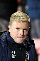 Bournemouth manager Eddie Howe during AFC Bournemouth vs Norwich City, Caraboa Cup Football at the Vitality Stadium on 30th October 2018