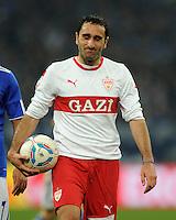 FUSSBALL   1. BUNDESLIGA   SAISON 2011/2012   18. SPIELTAG FC Schalke 04 - VfB Stuttgart            21.01.2012 Cristian Molinaro (VfB Stuttgart) enttaeuscht