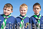 SCOUTS: Members of the 3rd Kerry Scout Group at the St Patrick's Day Parade in Milltown, l-r: James O'Connor, Cormac Leane, Mark Murphy.