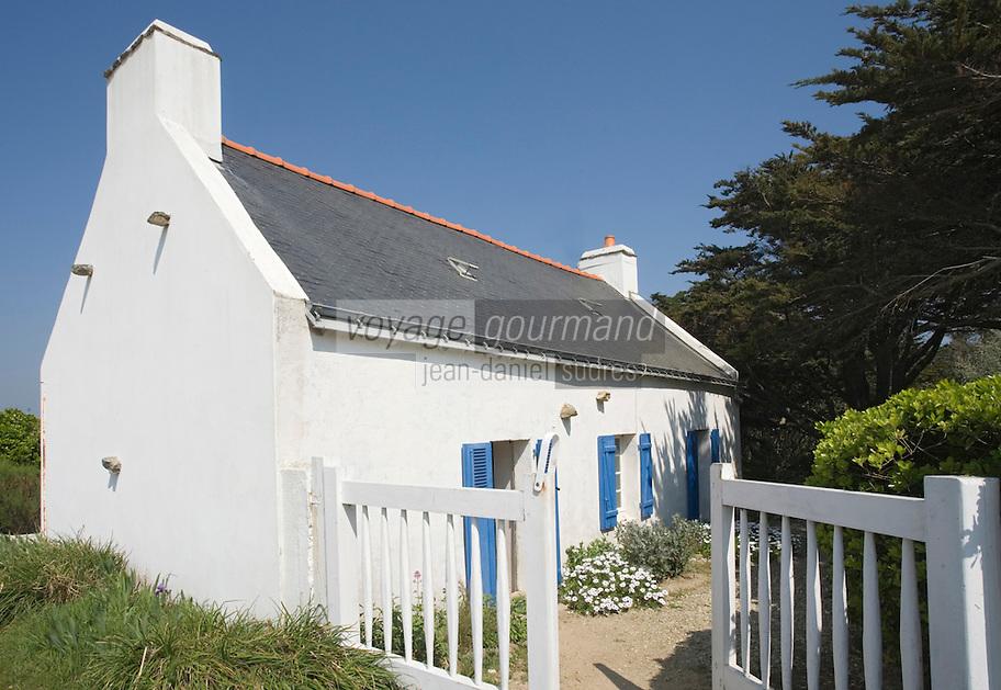 Europe/France/Bretagne/56/Morbihan/Belle-Ile/ Donnant : La maison d'Arletty