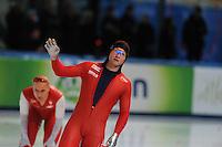 SPEED SKATING: STAVANGER: Sørmarka Arena, 31-01-2016, ISU World Cup, 1000m Men Division A, Espen Aarnes Hvammen (NOR), ©photo Martin de Jong