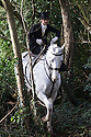 11/01/17<br /> <br /> Best Turned Out - Amy Bryan-Dowell.<br /> <br /> Ladies Day at the Meynell and South Staffs Hunt saw 93 riders, most of them female, many riding side-saddle, setting off from the Cock Inn at Muggington, and across the Derbyshire countryside. <br /> <br /> All Rights Reserved F Stop Press Ltd. +44 (0)1773 550665