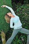 Stock photo of Mature Woman in Yoga