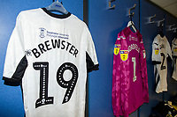 Rhian Brewster of Swansea City shirt during the Sky Bet Championship match between Cardiff City and Swansea City at the Cardiff City Stadium in Swansea, Wales, UK.  Sunday 12 January 2019