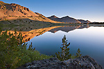 Morning light at Leavitt Lake, Toiyabe Natilonal Forest, Mono County, California