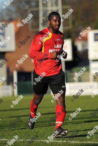2011-01-16 / Seizoen 2010-2011 / Voetbal / R Kapellen FC / Stanley Opoku Aborah..Foto: mpics