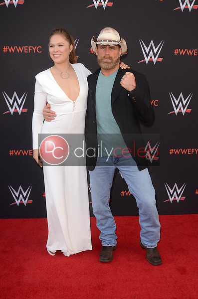 Ronda Rousey, Shawn Michaels<br />